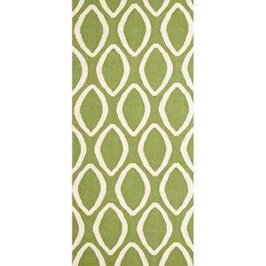 NOM-20-GREEN-RU Flat Weave Green Rug - The Flooring Guys
