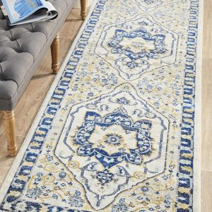 BLN-201-NAVY-RU Modern Blue Rug - The Flooring Guys