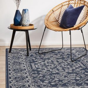 SSD-5555-NVY Outdoor Multi Rug - The Flooring Guys