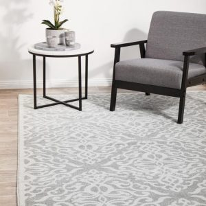 CRO-LYD-SIL Contemporary Multi Rug - The Flooring Guys