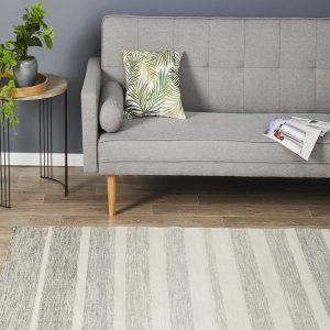 SKAN-309-GRY Modern Grey Rug - The Flooring Guys