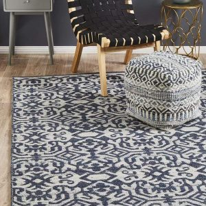 REL-140-SIL Transitional Silver Rug - The Flooring Guys