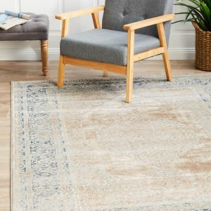 PVD-836-CRE Traditional Cream Rug - The Flooring Guys