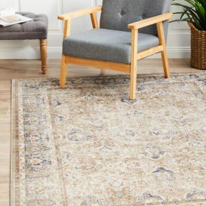 PVD-835-CRE Traditional Cream Rug - The Flooring Guys